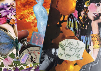 SoulCollage at Wildflowers in Truth or Consequences