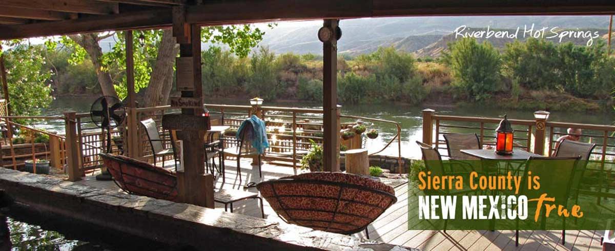 Riverbend Hot Springs in Truth or Consequences New Mexico