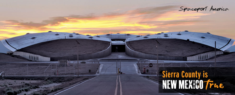 spaceport america near Truth or Consequences New Mexico