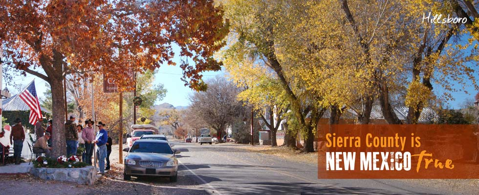 picturesque and historic HILLSBORO at the foot of the Black Range in Sierra County New Mexico