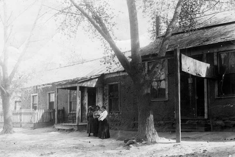 Sadie Orchard's Ocean Grove Hotel, known today as the Black Range Museum in Hillsboro New Mexico