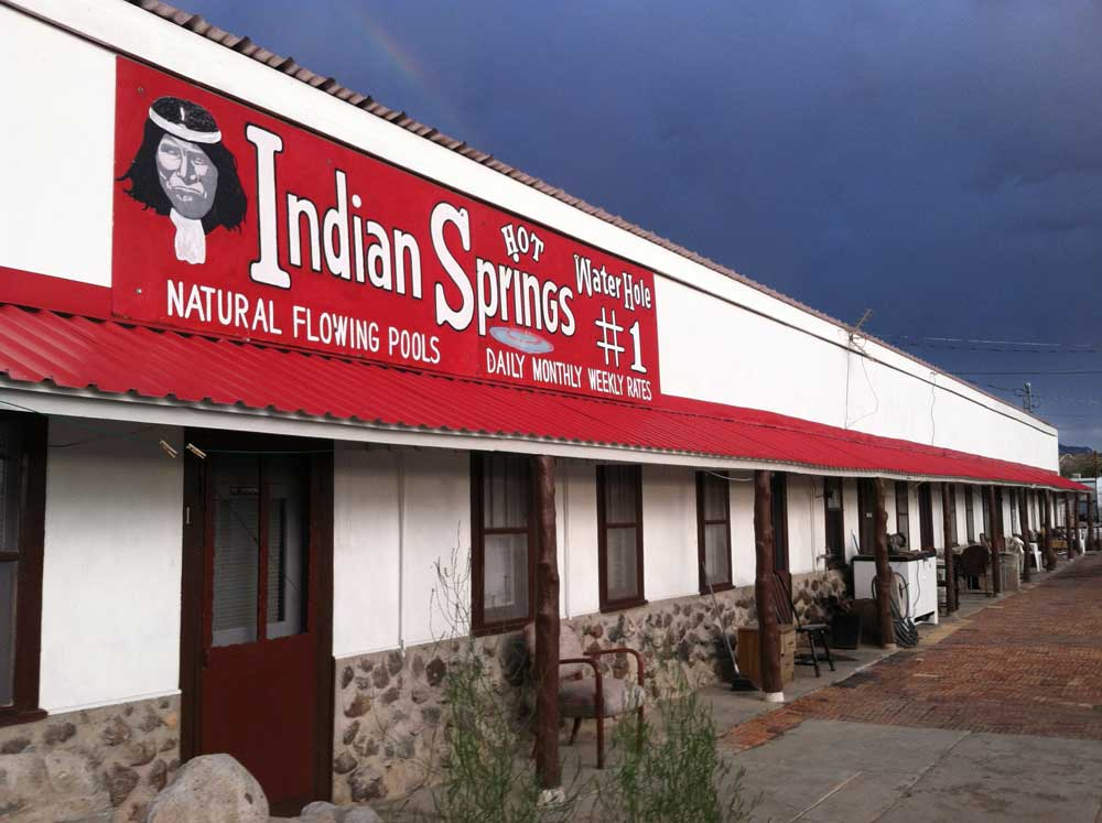 Indian Springs, hot mineral baths in Truth or Consequences New Mexico