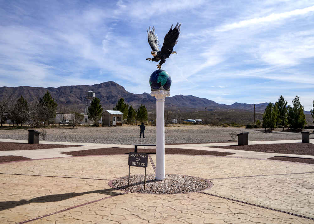 the walk of education at veterans memorial park in truth or consequences nm