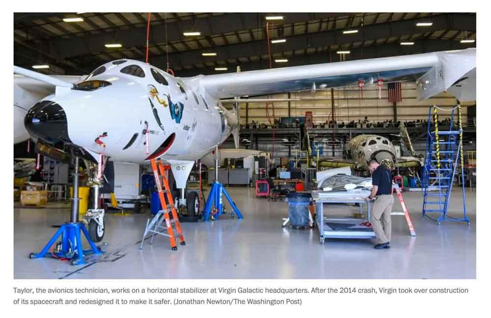 virgin galactic launching soon from spaceport america