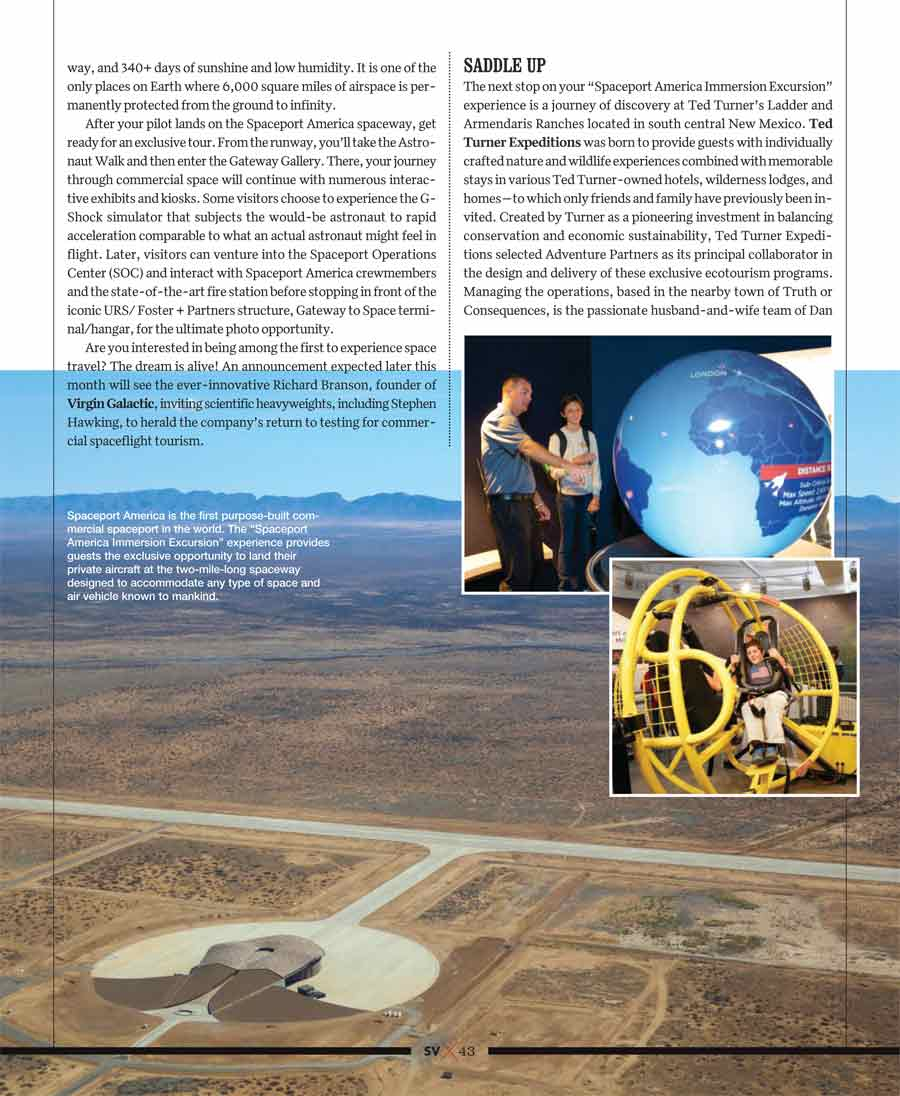 cowboys and astronauts - an article about Southern New Mexico in Silicon Valley Magazine