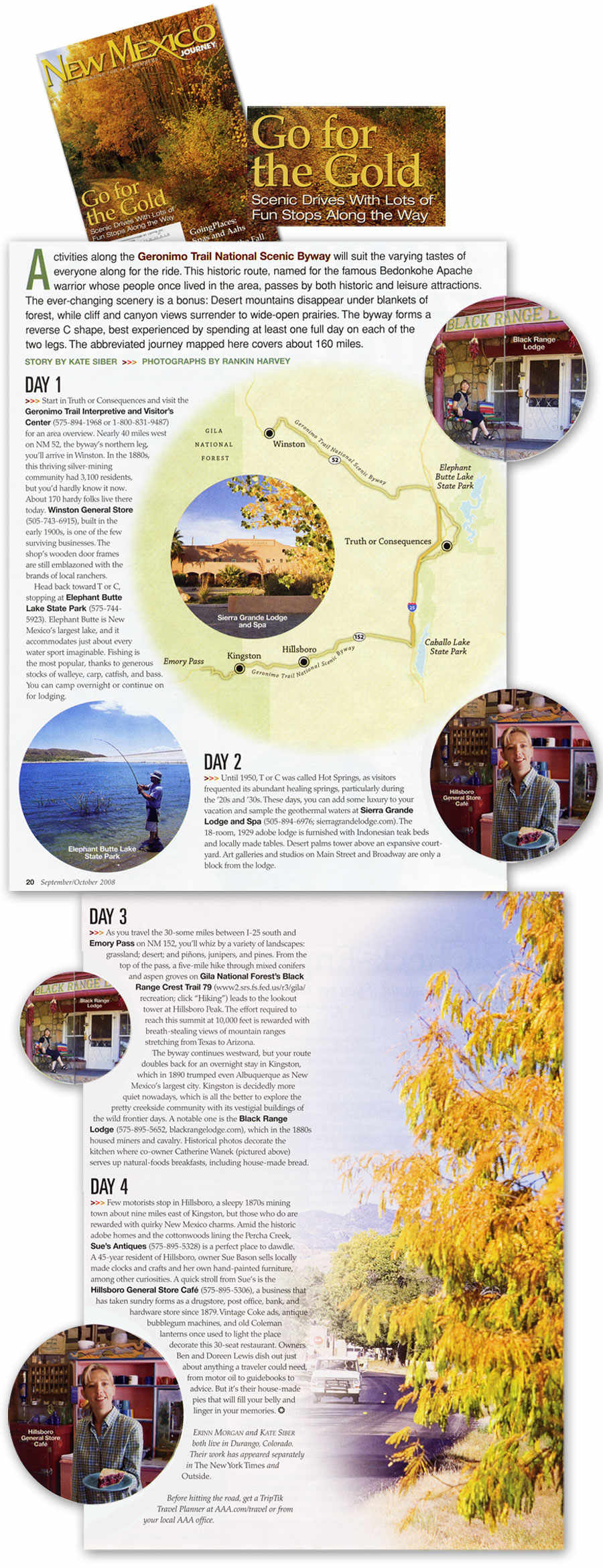 Go for the Gold: Scenic Drives (Geronimo Trail National Scenic Byway)
