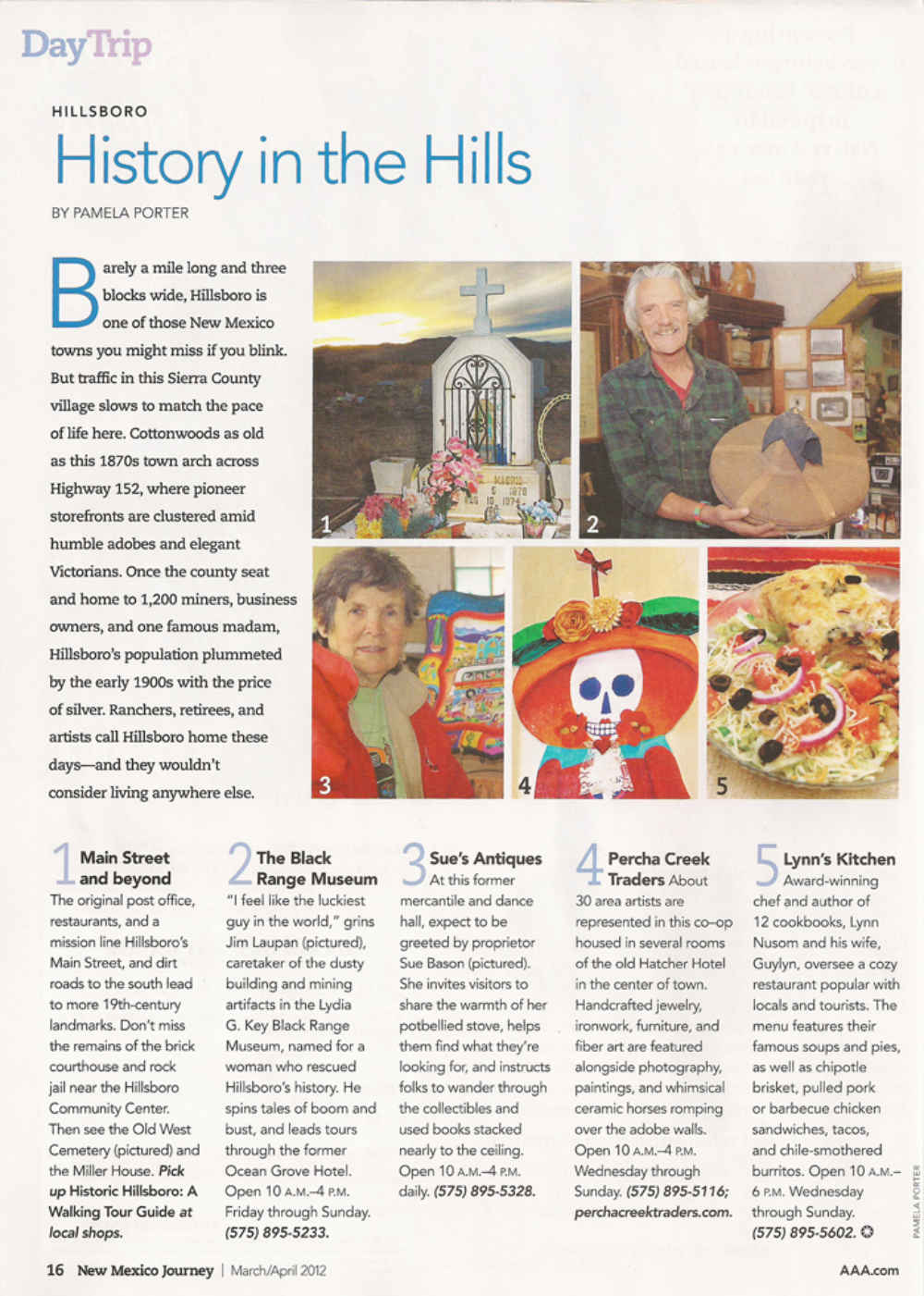 history in hillsboro new mexico - New Mexico Journey Magazine