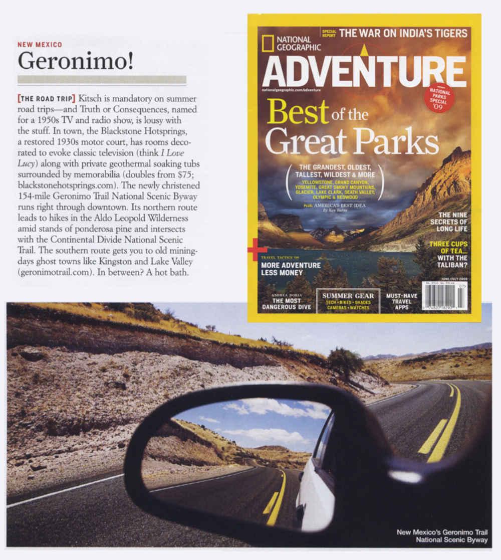 Geronimo, The Road Trip