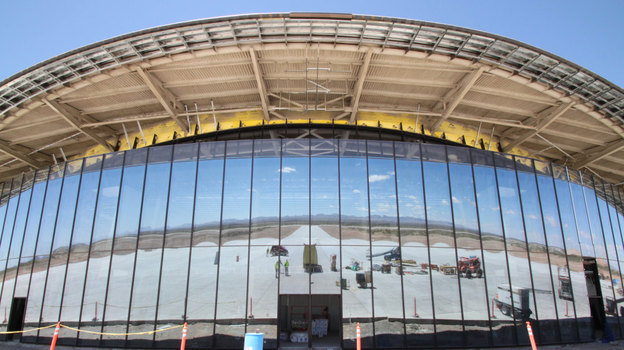 No Stranger To Spaceships, N.M. Builds A Spaceport