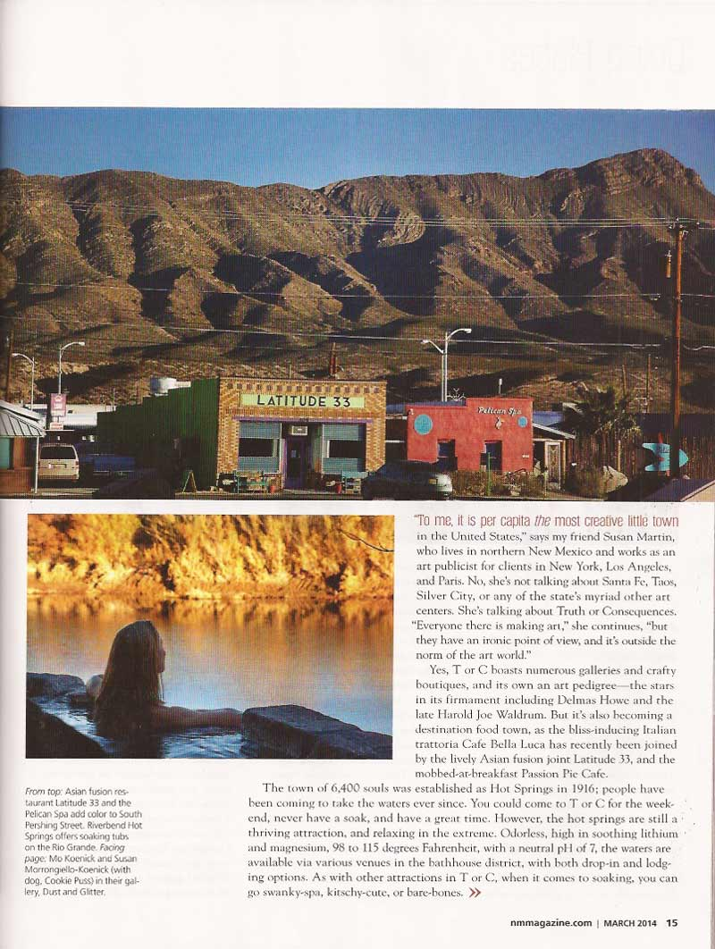 New Mexico Magazine March 2014 page 15