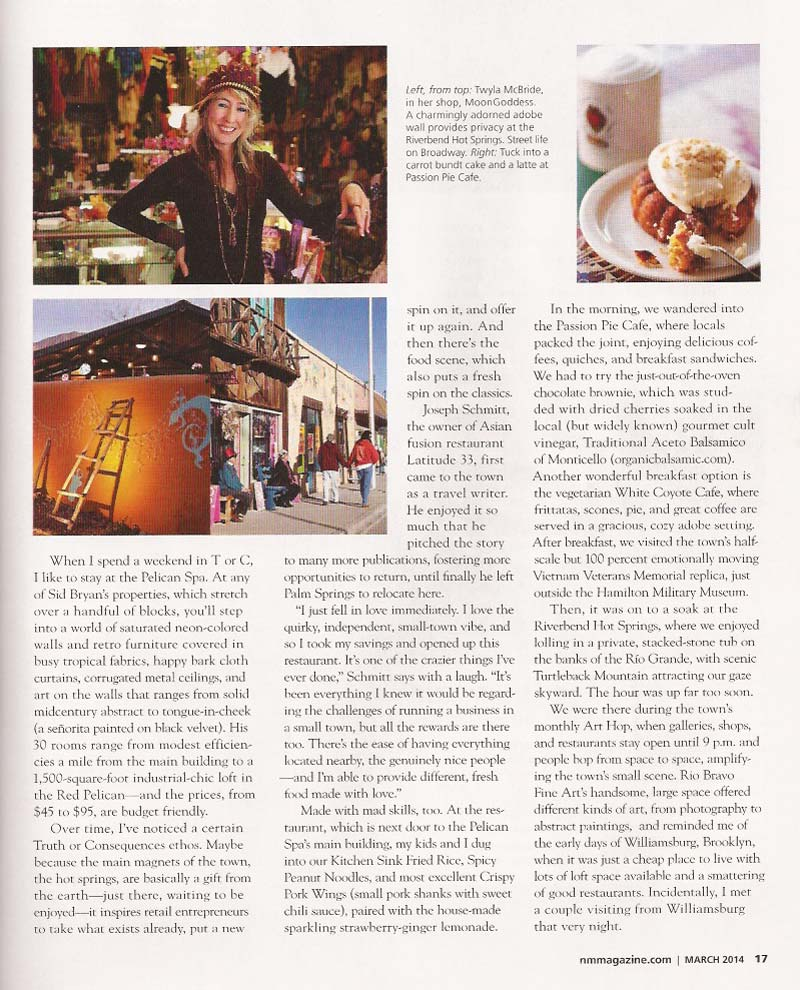 New Mexico Magazine March 2014 page 17