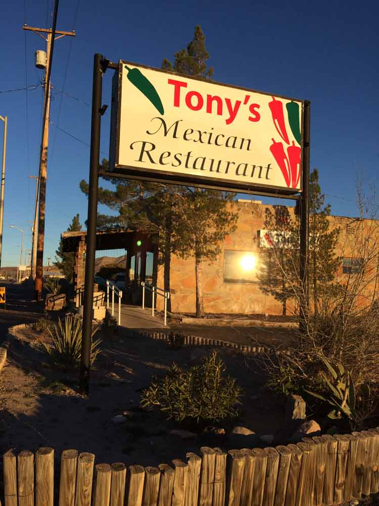 tonys restaurant in truth or consequences new mexico