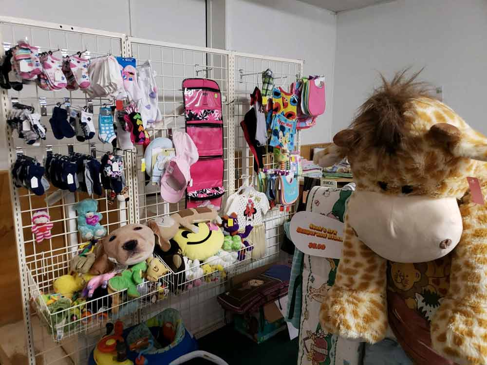 CASA Kids and Company thrift store, Truth or Consequences NM