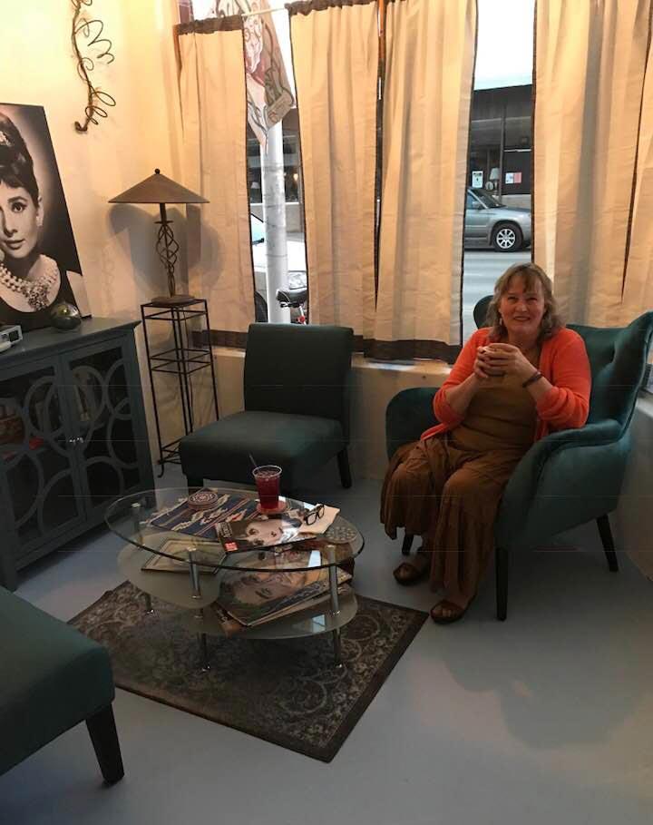 Ingo's Cafe - Audrey Hepburn