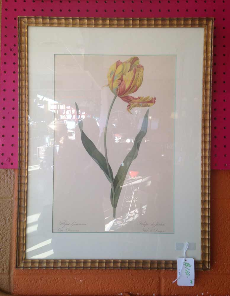 framed artwork at January's Collectibles and Antiques