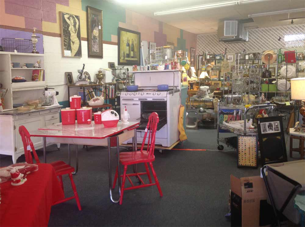 kitchen furniture and furnishings at Januarys Collectibles and Antiques