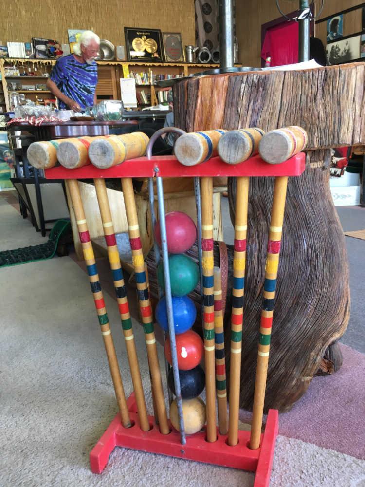 croquet set at junkology