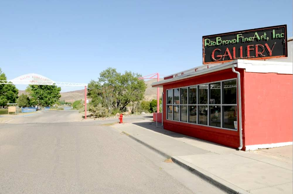 Rio Bravo Gallery, near the entrance to Ralph Edwards Park in Truth or Consequences NM