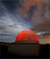 Etscorn Observatory on the New Mexico Tech Campus in Socorro NM
