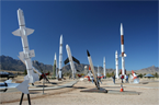 Missile Park at White Sands Museum
