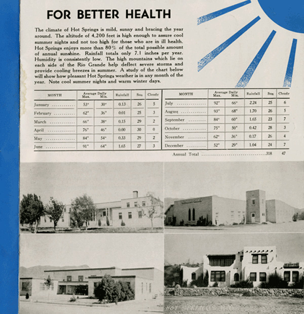 for better health - Hot Springs New Mexico