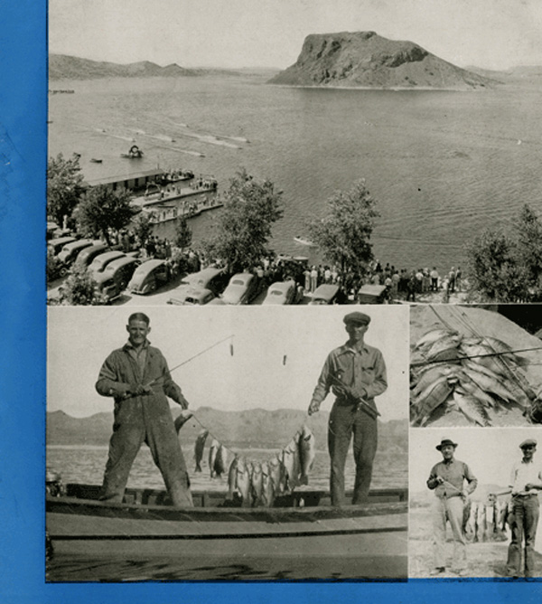 Sports at Elephant Butte Lake, just five miles from Hot Springs New Mexico (now Truth or Consequences New Mexico)
