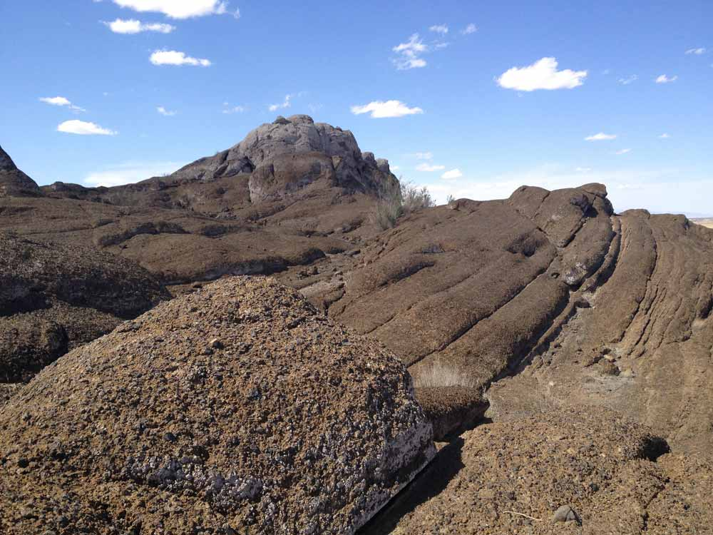 Lava Rocks at Elephant Butte Lake