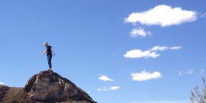 lava-like-rocks-at-elephant-butte