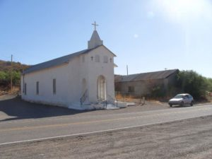 San Jose Catholic Church, built in 1907 - Cuchillo NM