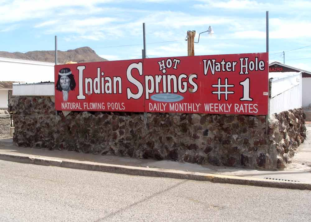 Indian Springs, Truth or Consequences