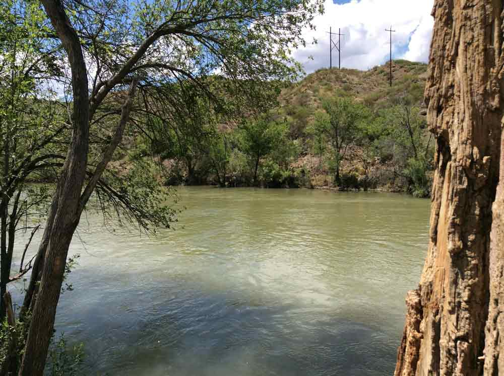 Rio Grande at Paseo del Rio