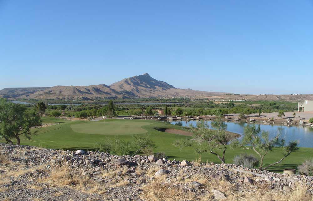 Sierra del Rio Golf Course with Turtleback Mountain