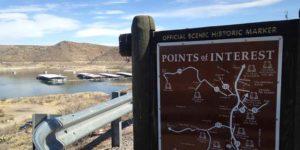 Elephant Butte Dam Overlook