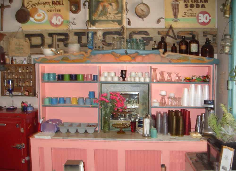 Hillsboro General Store interior