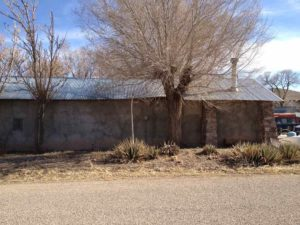 adobe building in Winston New Mexico