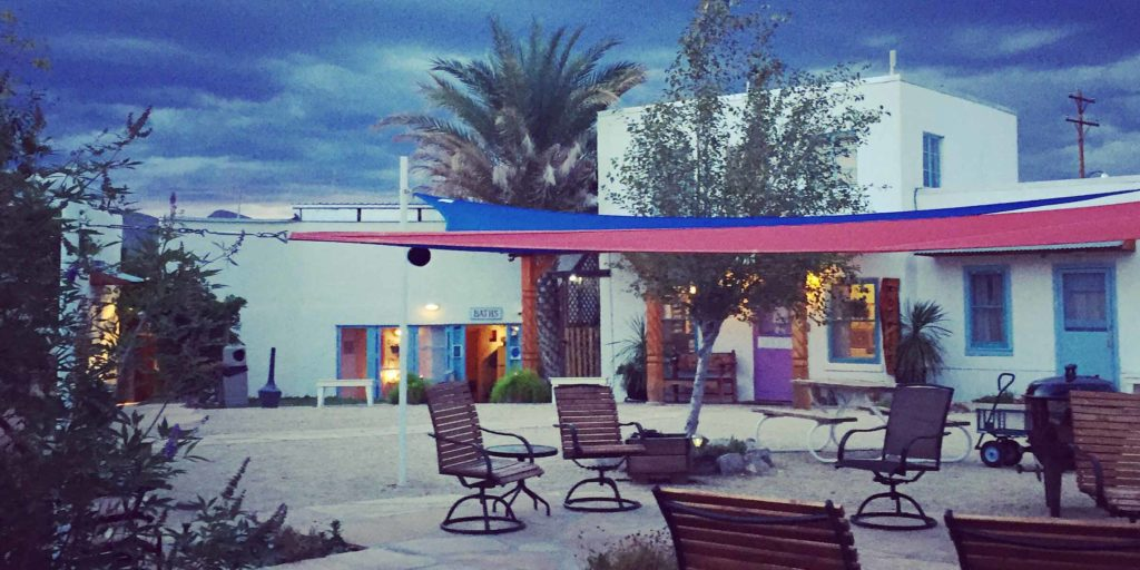 La Paloma Hot Springs Courtyard
