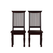 Colonial American Handcrafted Solid Wood 12 Piece Dining Room Set