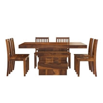 Modern Simplicity Solid Wood Dining Room Set