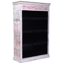 La Crosse Solid Reclaimed Wood Bookcase with 3 Shelves