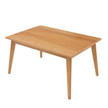 Avondale Teak Wood Modern Style Dining Table