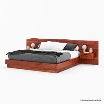 Batesville Live Edge 4 Piece Bedroom Set