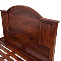 Sierra Nevada Rustic Solid Wood Platform Bed
