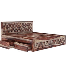 Walsenburg Checkered 4 Piece Bedroom Set
