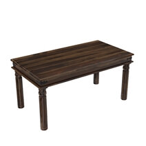 Oklahoma Farmhouse Solid Rosewood Traditional Dining Table