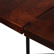 McAllen Suar Wood Live Edge Large Dining Table