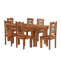 Philadelphia Rustic Solid Wood Dining Room Set
