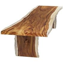 Rosario Single Slab Suar Wood Large Live Edge Conference Table