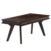 Petaluma Rustic Solid Wood 8 Piece Dining Room Set