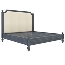 Marysville Mahogany Wood Platform Bed