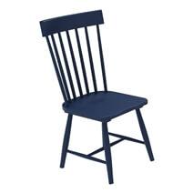 Peshtigo Mahogany Wood Modern Farmhouse Windsor Dining Chair